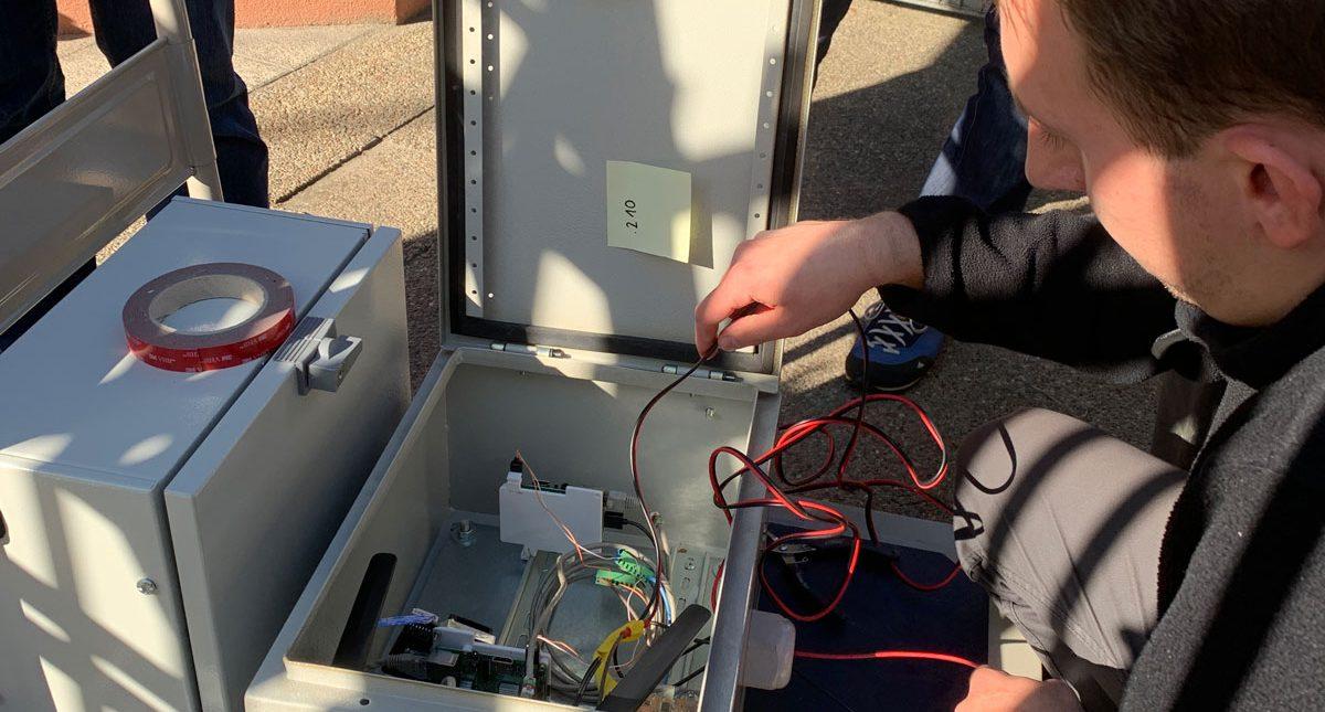 Test transmisji danych z wykorzystaniem LORA