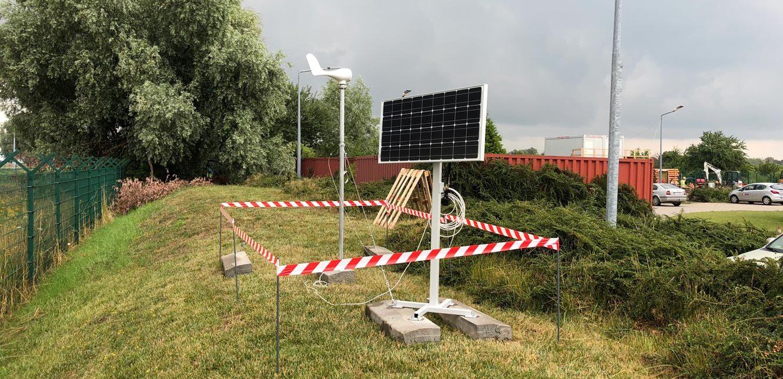 Pierwsza instalacja testowa układu pozyskiwania energii z odnawialnych źródeł